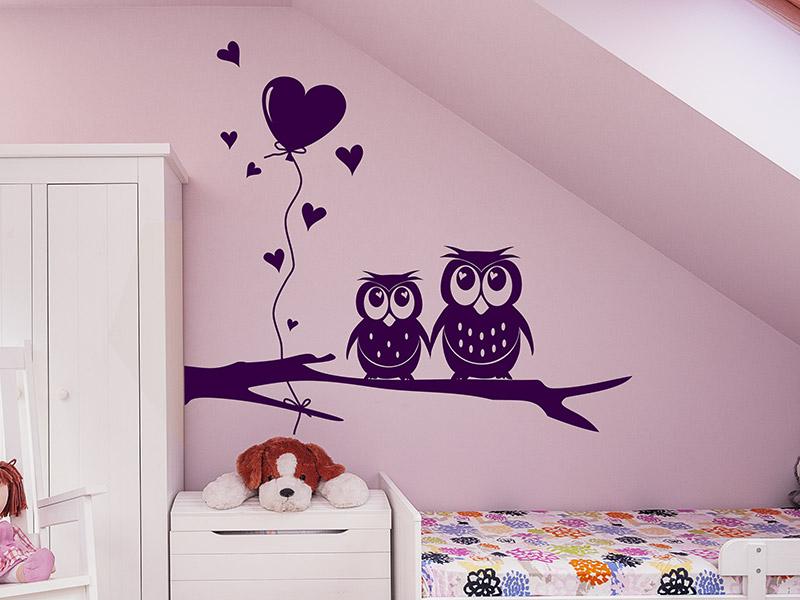 Wandgestaltung Kinderzimmer Eulen ~ Speyeder.net = Verschiedene ...