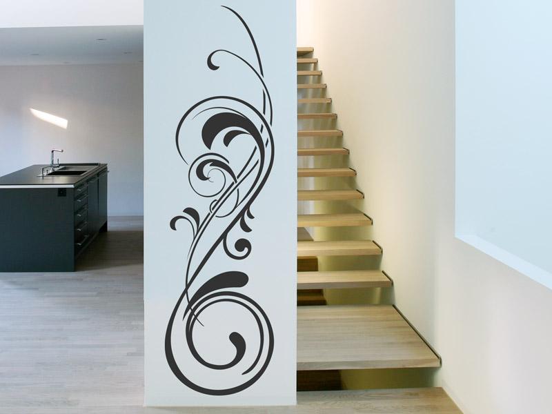 schn rkel wandtattoo ornament verschn rkelte wandtattoo ornamente als wandtattoos. Black Bedroom Furniture Sets. Home Design Ideas