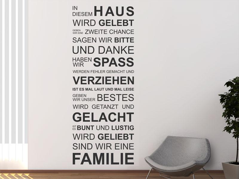 wandtattoo wohnzimmer - ideen zur wandgestaltung - wandtattoos.de