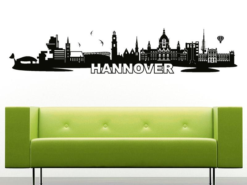 wandtattoo hannover skyline hannover wandtattoo hannover. Black Bedroom Furniture Sets. Home Design Ideas