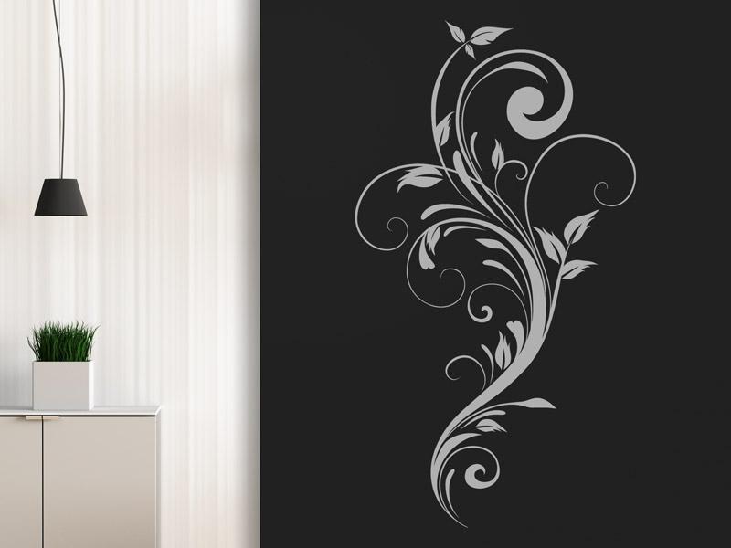 wandtattoo kunstvolles ornament wandtattoos. Black Bedroom Furniture Sets. Home Design Ideas