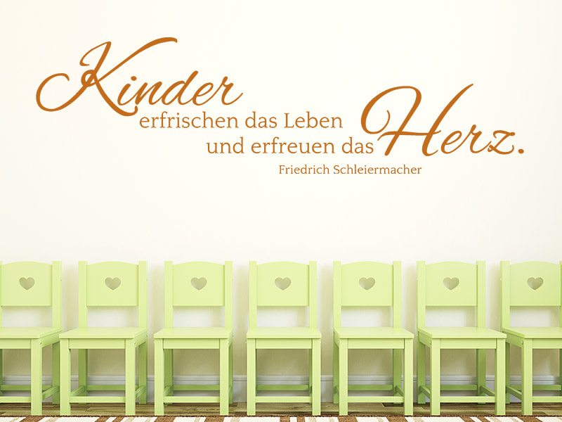 wandtattoo kinder erfrischen das leben. Black Bedroom Furniture Sets. Home Design Ideas