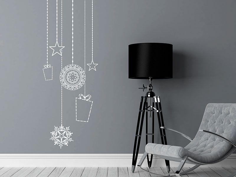 weihnachtsschmuck wandtattoo schmuck weihnachten bei. Black Bedroom Furniture Sets. Home Design Ideas