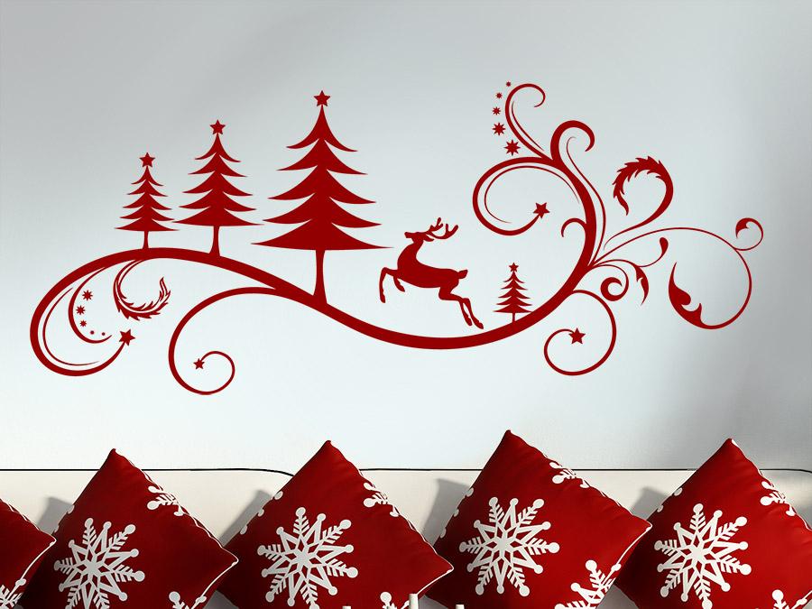Узоры в новогоднюю открытку