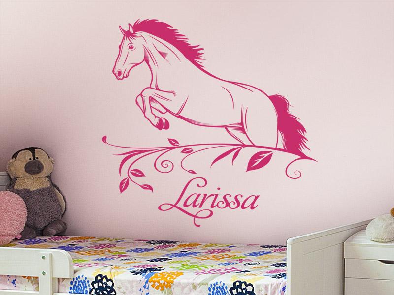 wandtattoo pferd kinderzimmer reuniecollegenoetsele. Black Bedroom Furniture Sets. Home Design Ideas