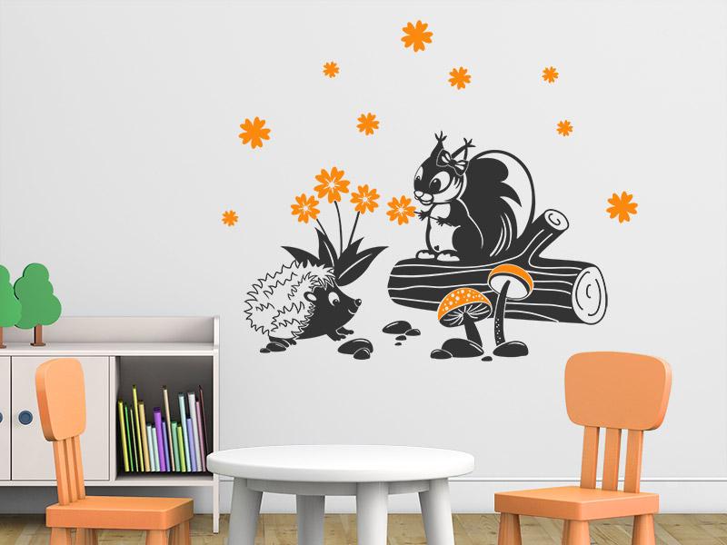 Wandtattoo Tiermotive für Kinderzimmer: Pferde, Ponys - Wandtattoos.de