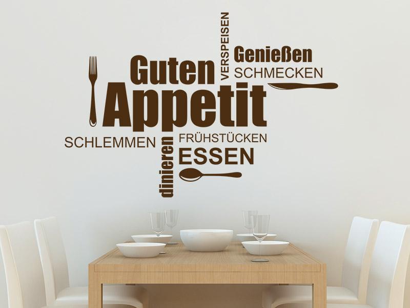 Wandtattoo Küche: Begriffe und Worte für die Küche - Wandtattoos.de | {Küchentattoos 20}