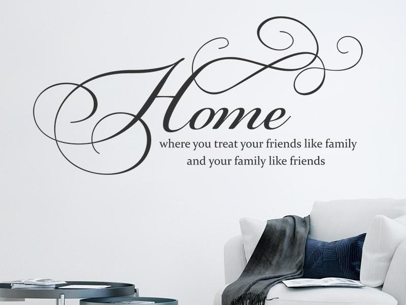 Wandtattoo Home wandtattoo home where you treat your wandtattoos de