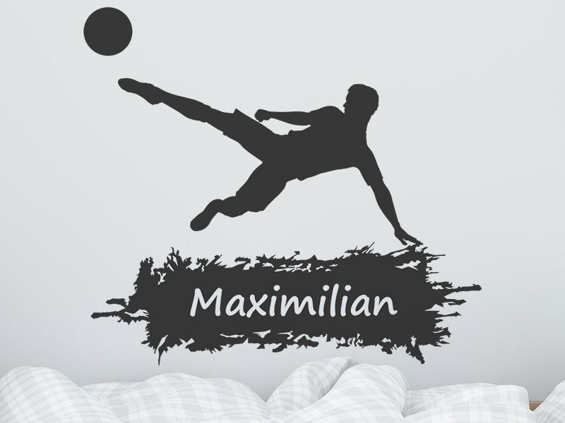 Good Wandtattoo Fußball Mit Name
