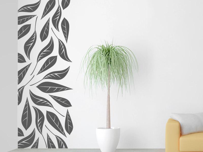 wandtattoo wandbanner bl tter bei. Black Bedroom Furniture Sets. Home Design Ideas