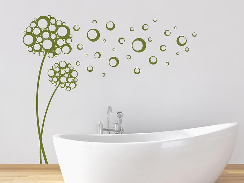 Wandtattoo Badezimmer | geniale Motive fürs Bad | Wandtattoos.de