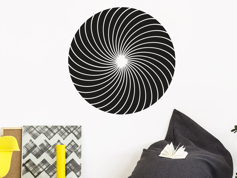 3d wandtattoo im fokus bei. Black Bedroom Furniture Sets. Home Design Ideas