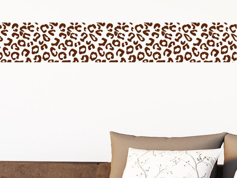 wandtattoo bord re leopard von. Black Bedroom Furniture Sets. Home Design Ideas