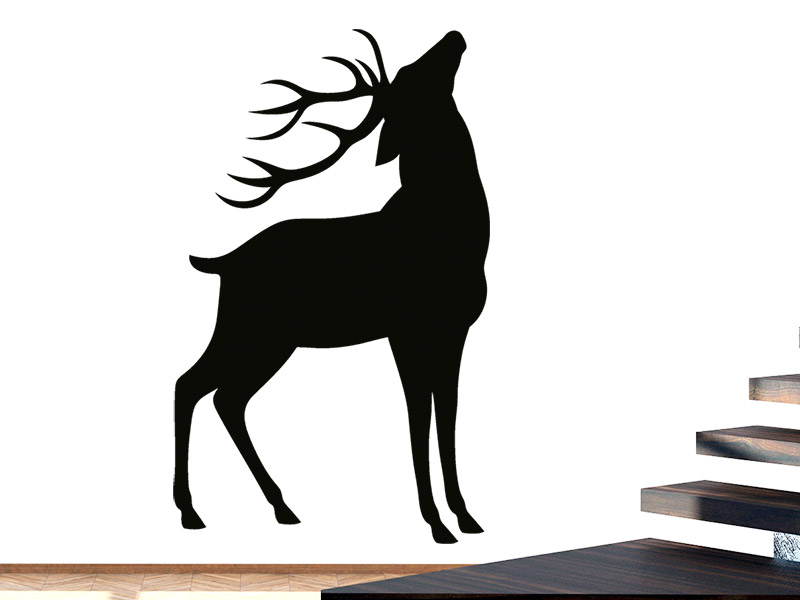 wandtattoo r hrender hirsch. Black Bedroom Furniture Sets. Home Design Ideas