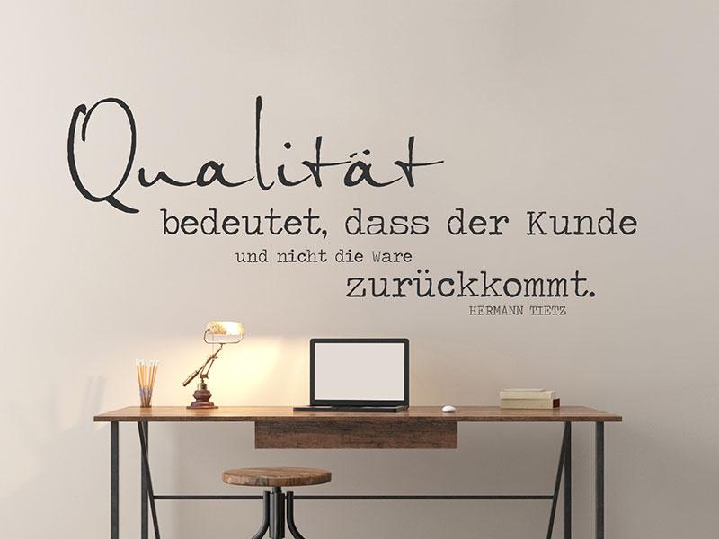 Wandgestaltung Büro wandtattoo zitate fürs büro arbeit motivation wandtattoos de