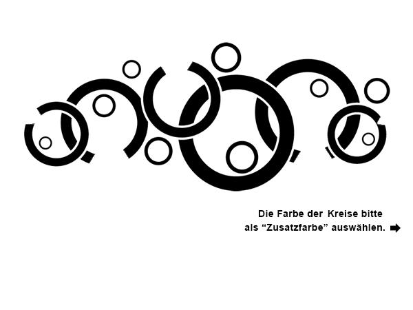 Wandtattoo Kreise Und Dreiecke Ornament