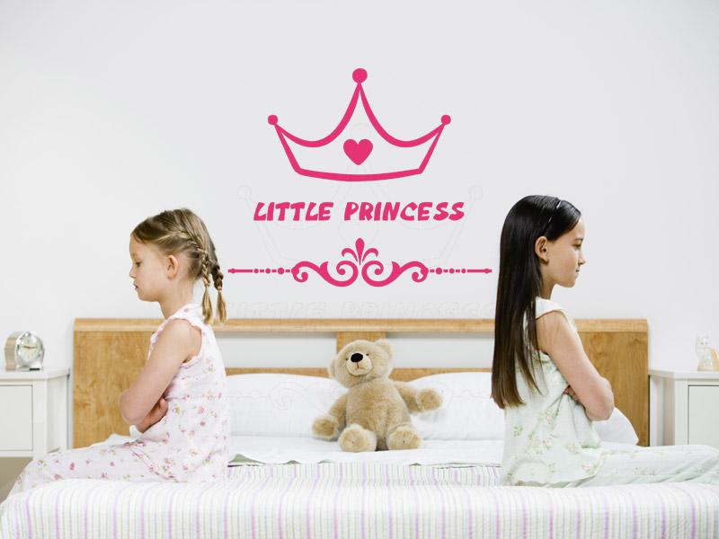 Wandtattoo Kleine Prinzessin Little Princess Wandtattoos De