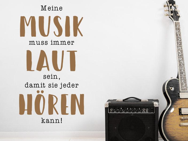 Laut Musik Hören