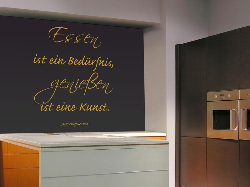 Wandtattoo rund ums Essen - Zitate für die Küche - Wandtattoos.de