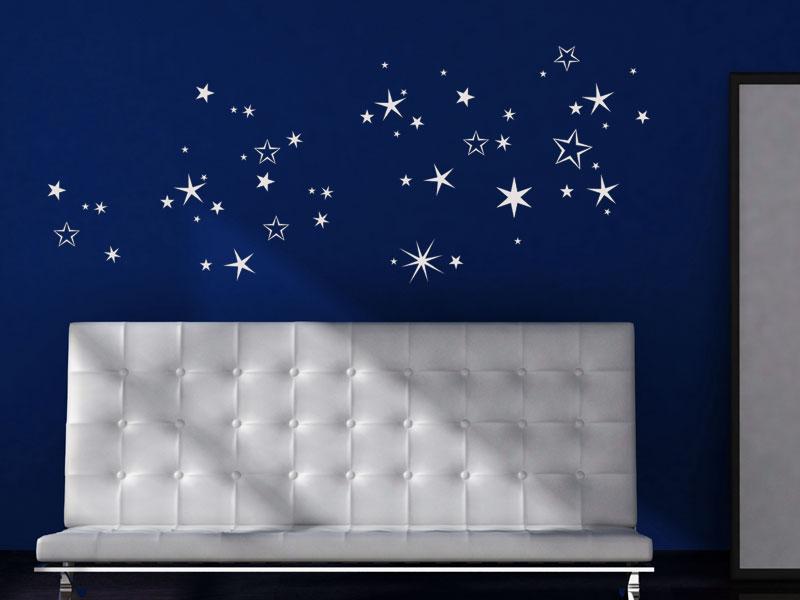 Sternenhimmel Wandtattoo Sternenhimmel bei Wandtattoosde