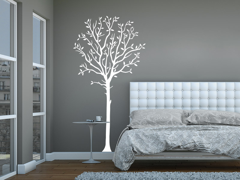 wandtattoo dekorativer baum. Black Bedroom Furniture Sets. Home Design Ideas