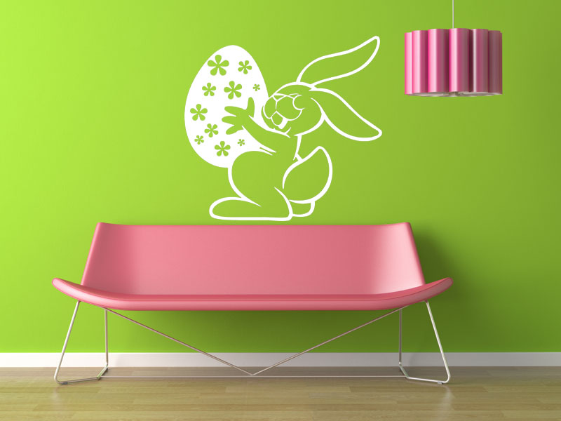 wandtattoo h pfender osterhase ostern. Black Bedroom Furniture Sets. Home Design Ideas