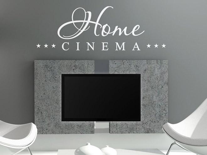 Home Cinema Wandtattoo Heimkino Fernseher Wandtattoos Film
