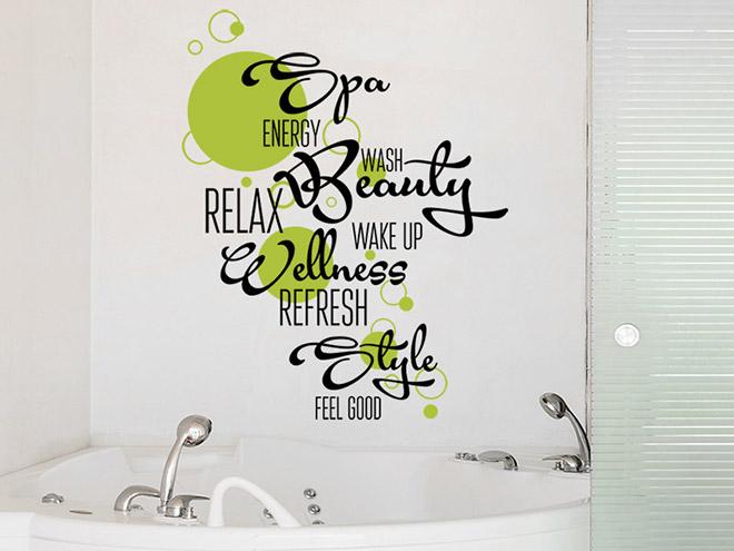 Badezimmer tattoos traufkleber bad dusche badezimmer tr - Wandtattoo fur bad ...