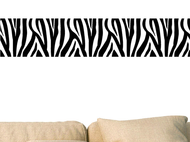 wandtattoo bord re zebra. Black Bedroom Furniture Sets. Home Design Ideas