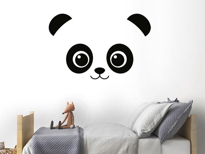 wandtattoo panda b r kinderzimmer. Black Bedroom Furniture Sets. Home Design Ideas