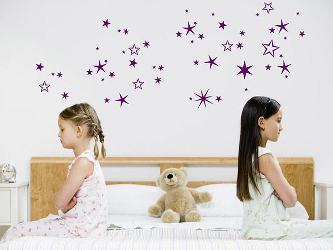 Wandtattoo sternenhimmel for Sternenhimmel kinderzimmer