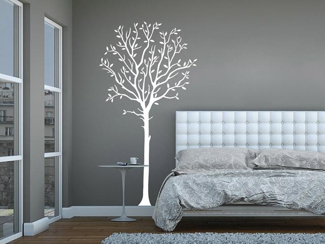 baum wandtattoo baum wandtatoo deko von. Black Bedroom Furniture Sets. Home Design Ideas