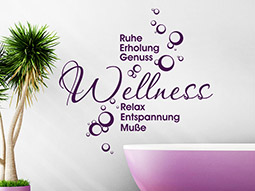 Wandtattoo Wellnessoase