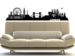 wandtattoo london tower bridge egland. Black Bedroom Furniture Sets. Home Design Ideas