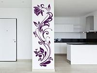 wandbanner dekorative ranke bei. Black Bedroom Furniture Sets. Home Design Ideas