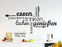 Wandtatoos für die küche  Wandtattoo Küche - Ideen zur Küchengestaltung - Wandtattoos.de