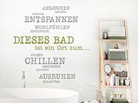 Wandtattoo Badezimmer   geniale Motive fürs Bad   Wandtattoos.de