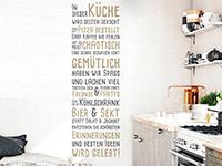 Wandtattoo Lebendige Küche