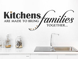 Wandtattoo Kitchens are made