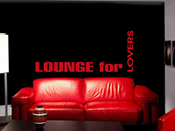 Wandtattoo Lounge for Lovers