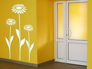 Wandtattoo Sonnenblumen