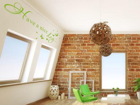 Neue Blickwinkel Wandtattoos In Dachschragen Wandtattoos De