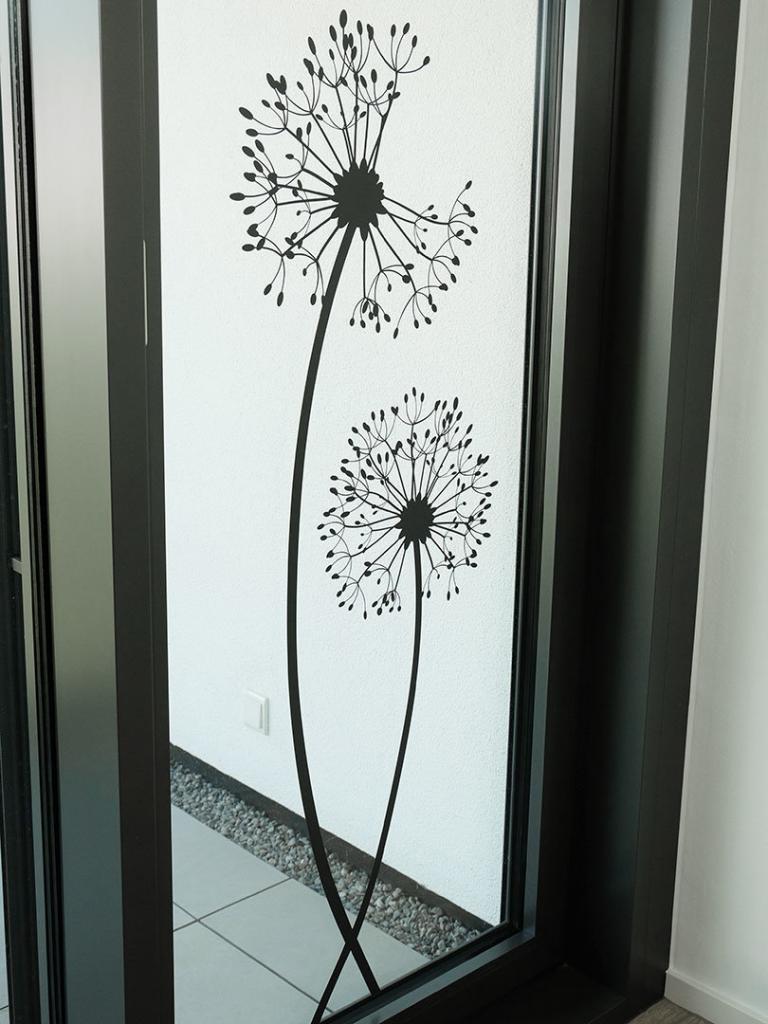 Wandtattoo Nassverklebung Wandtattoos Auf Glas Spiegel